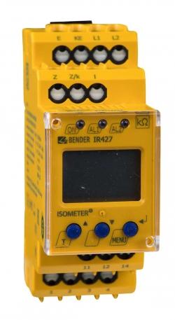 ISOMETER® IR427 с индикаторной панелью MK7